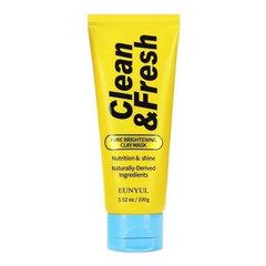 Eunyul Clean & Fresh Pure Brightening Foam Cleanser - Очищающая пенка для сияния кожи