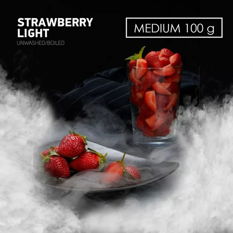 Табак Dark Side MEDIUM Strawberry Light 100 г