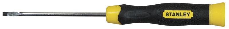 Отвертка SL3 CushionGrip прямой шлиц 3мм Stanley 0-64-924