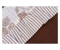 Постельное белье 2 спальное евро макси Old Florence Амели коричневое