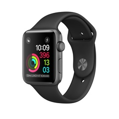 Apple Watch Series 2 42 мм Серый космос
