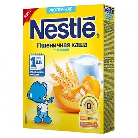 Nestlé® Молочная пшеничная каша с тыквой 250гр