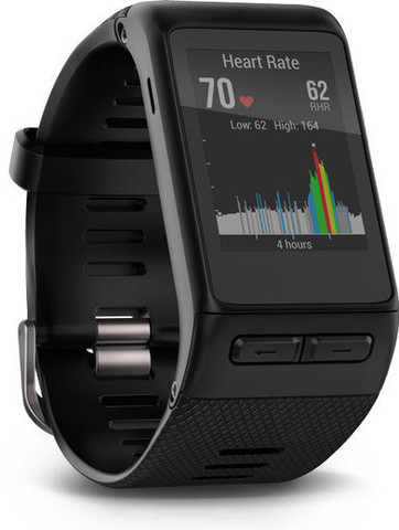 Garmin Vivoactive HR ‐GPS , (010-01605-00) ,Black