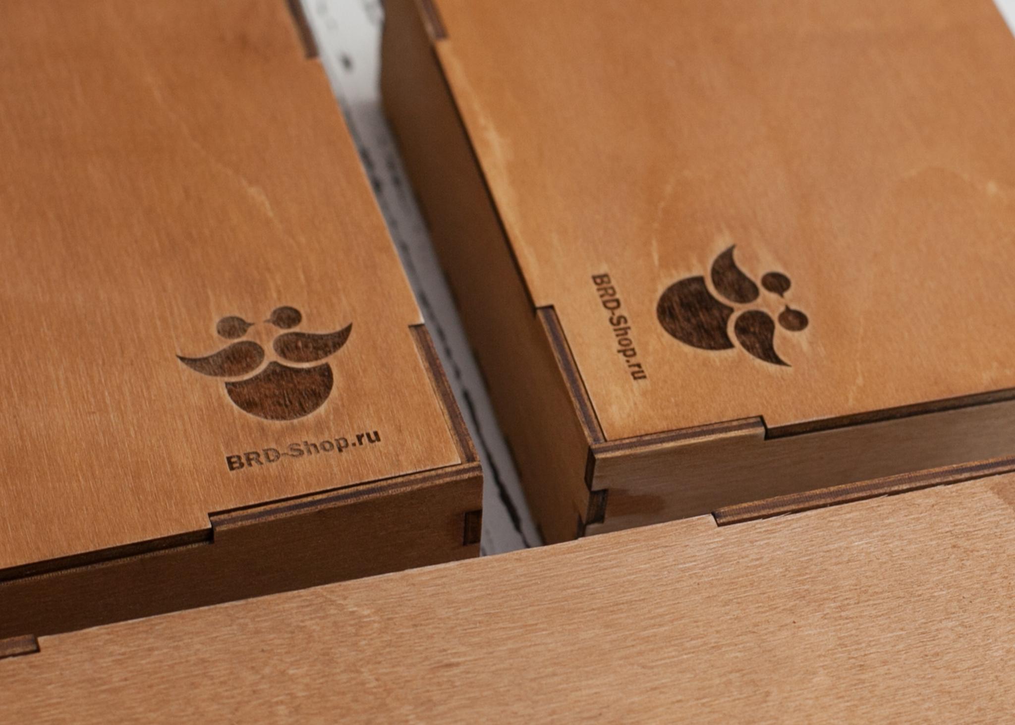 Подарочная коробка с логотипом
