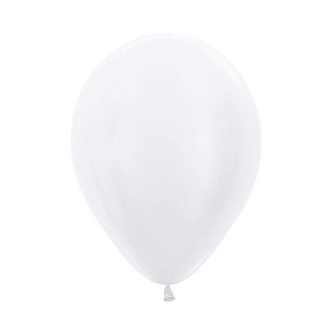 Латексный воздушный шар, цвет жемчужный, перламутр