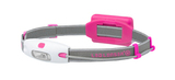 Фонарь налобный Led Lenser NEO розовый