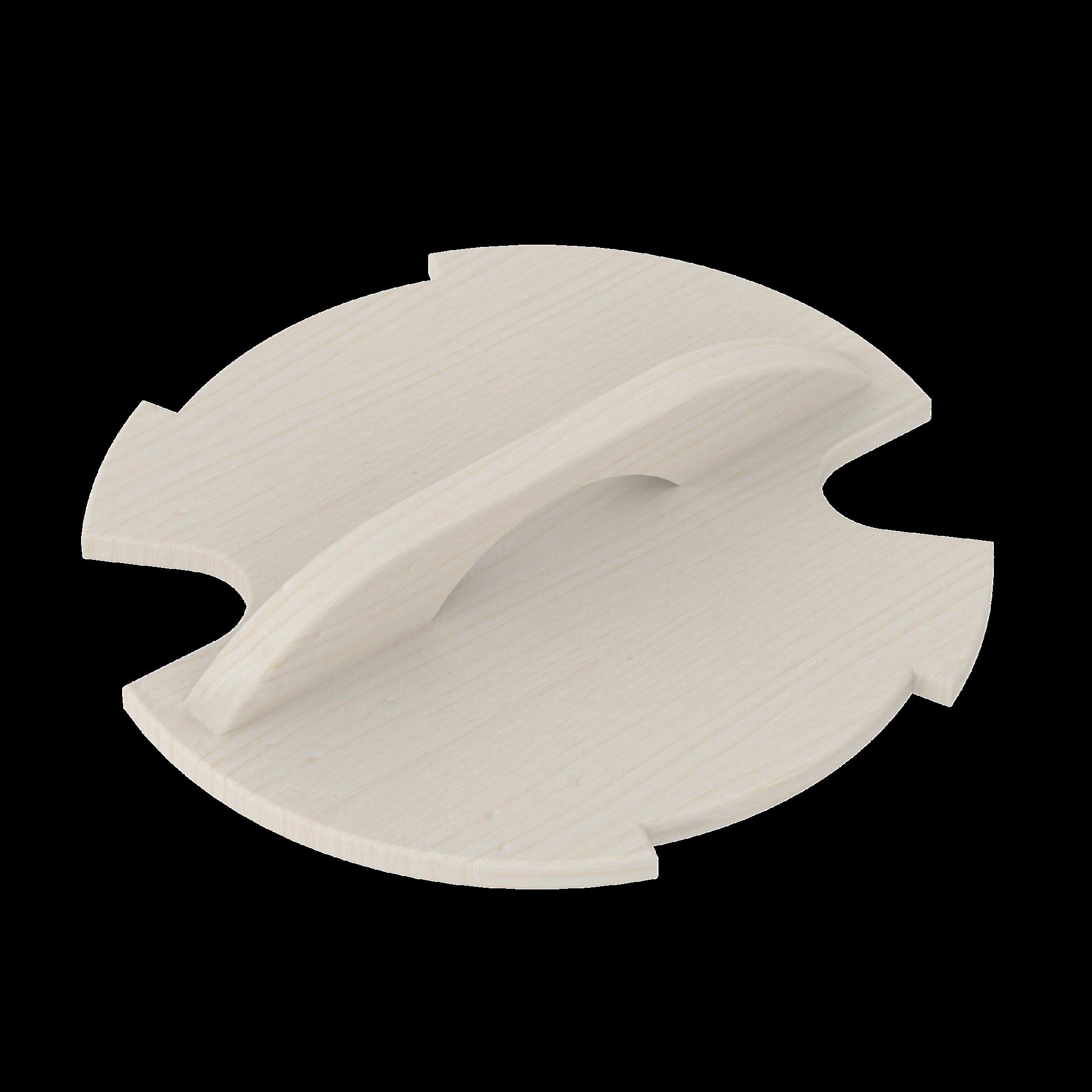 Фото - Ведра и кадушки: Крышка деревянная SAWO 381-A-COV для запарника 381-A ведра и кадушки кадушка деревянная sawo 330 p 3 литра с пластиковой вставкой