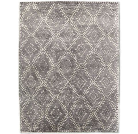 Mohair Antico Rug - Charcoal/Grey