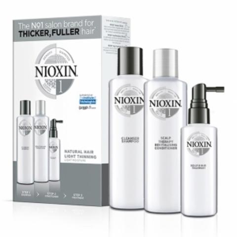Набор XXL (Система1),NIOXIN ,300мл(шампунь)+300мл(кондиционер)+100мл (маска)