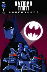 Batman/Teenage Mutant Ninja Turtles Adventures #1 с автографами Кевина Истмана и Сиро Ниели