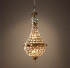 19th C. French Empire Crystal Chandelier 14