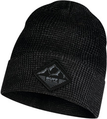 Вязаная шапка Buff Hat Knitted Maks Black
