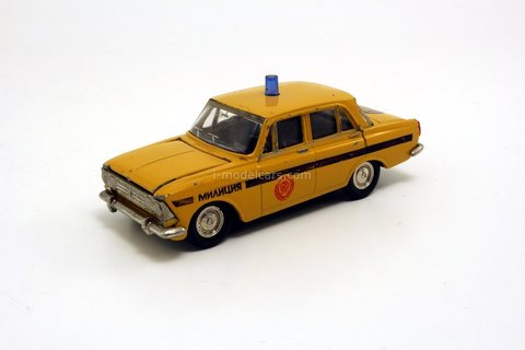 Moskvich-408 Police traffic GAI Agat Tantal Made in USSR 1:43