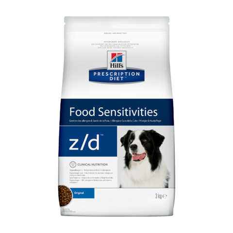 Hill's Prescription Diet z/d Food Sensitivities Сухой диетический гипоаллергенный корм для собак при пищевой аллергии