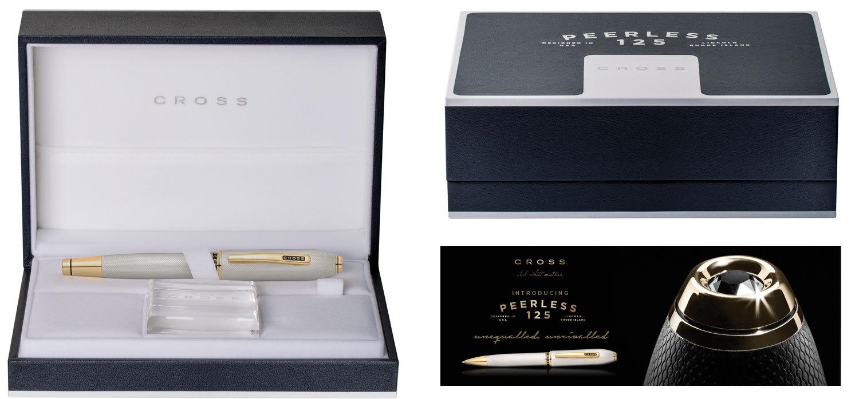 Cross Peerless 125 - Platinum ST, шариковая ручка, M, BL