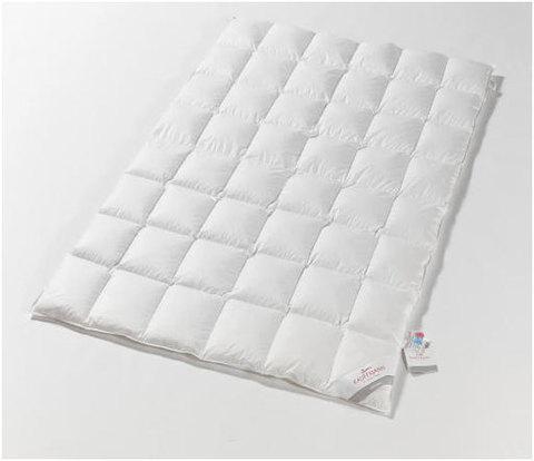 Одеяло пуховое всесезонное 155х200 Kauffmann Naturpur