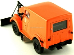 GAZ-69 T-3 Sidewalks-Cleaning Machine USSR 1:43 DeAgostini Service Vehicle #7