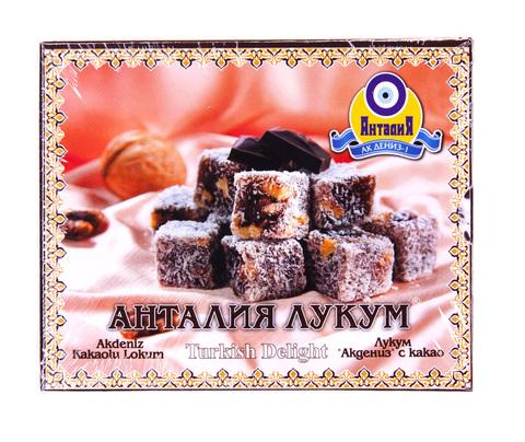 Рахат лукум Анталия с какао, 125 г