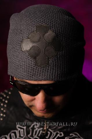 Шапка «Repentance» от 7.17 Studio Luxury с крестом