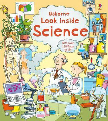 Kitab Look Inside Science   Minna Lacey