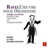 Andre Cluytens, Orchestre De La Societe / Ravel: Bolero, La Valse, Rapsodie Espagnole (LP)