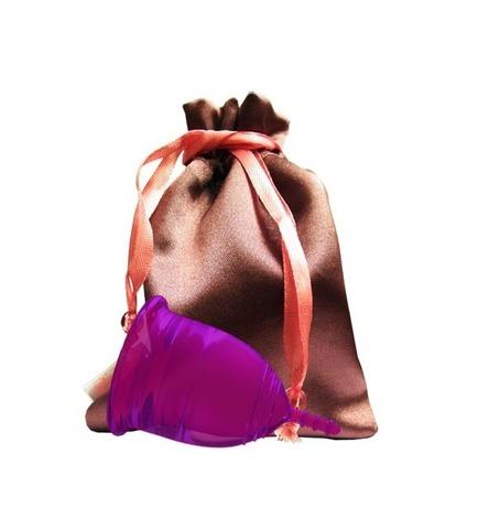 Менструальный кап с удобным мешочком