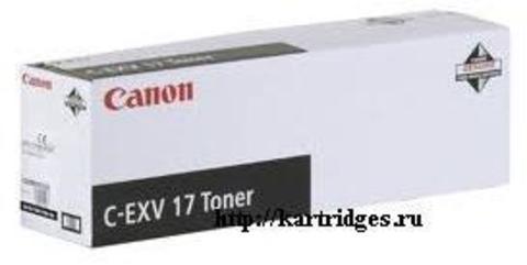 Картридж Canon C-EXV17Bk (C-EXV17, C-EXV-17Bk)