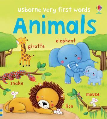 Kitab Very First Words Animals   Felicity Brooks ,
