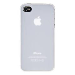 Накладка пластиковая Xinbo для iPhone 4 / 4s ультратонкая БЕЛАЯ