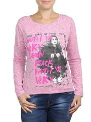 6021-6 кофта женская, розовая