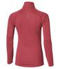 Женская беговая рубашка с молнией Asics LS 1/2 ZIP Jersey 132109 0656 темно-розовая