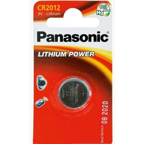 Батарейки Panasonic CR 2012 (1 BL)