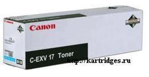 Картридж Canon C-EXV17C (C-EXV17 , C-EXV-17C)