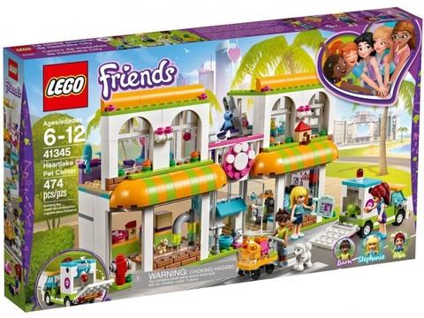 LEGO Friends: Центр по уходу за домашними животными 41345 — Heartlake City Pet Center — Лего Френдз Друзья Подружки