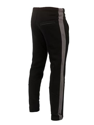 Спорт-брюки с лампасами Варгградъ мужские чёрные
