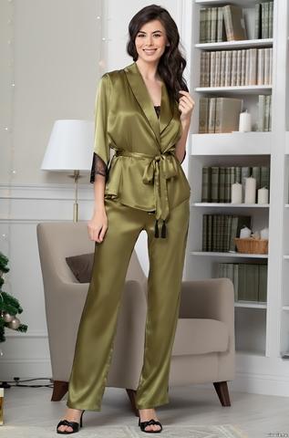Комплект домашний с брюками Mia-Amore OLIVIA ОЛИВИЯ 3645