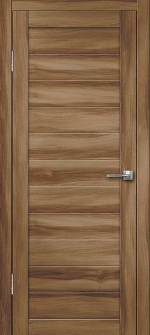 Дверь Дверлайн Грация-1, цвет барон тёмный, глухая