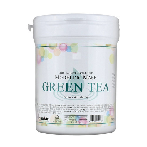 Anskin Original Маска альгинатная с экстр. зел.чая усп. (банка) 700мл Green Tea Modeling Mask /container 240гр