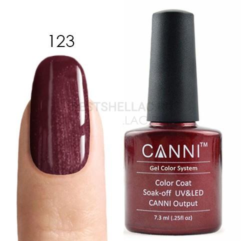 Canni Canni, Гель-лак 123, 7,3 мл 123.jpg