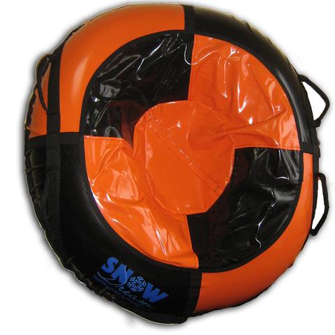 Санки-ватрушка SnowDream Classic Mega 120 оранжево-черная