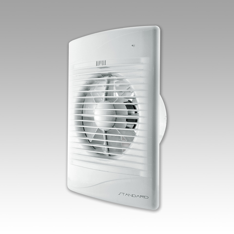 Вентилятор Эра STANDARD 5ЕТ-02 D 125 c Таймером и тяговым выключателем