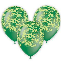 Воздушные шары EMERALD GREEN Милитари