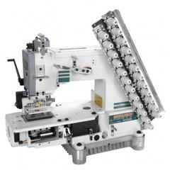 Фото: Двенадцатиигольная поясная машина Siruba VC008-12064P/VWLC/FH