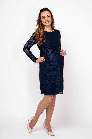 Платье 08130 синий