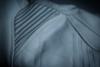 Мотокуртка - ICON SANCTUARY (кожа, серо-красная)