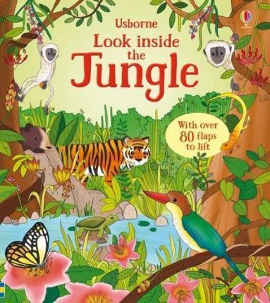Kitab Look Inside the Jungle | Minna Lacey