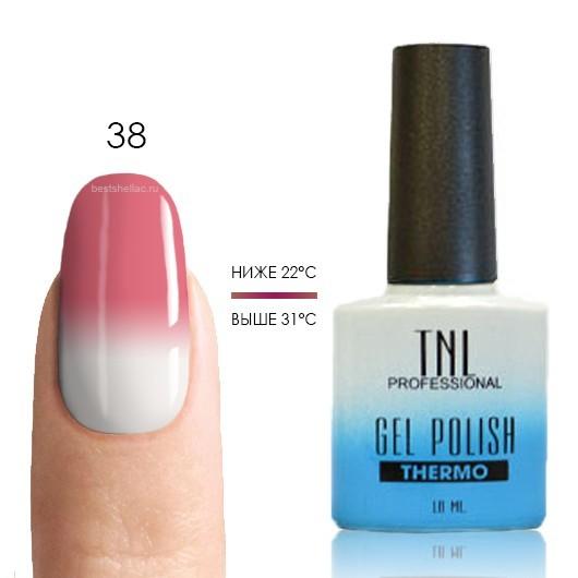 Термо TNL, Термо гель-лак № 38 - розовая гвоздика/белый, 10 мл 38.jpg
