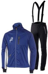 Мембранный ветрозащитный костюм Stoneham Exercise Blue мужской
