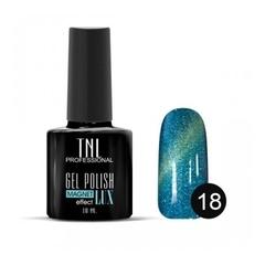 TNL, Гель-лак Magnet LUX №18 - искрящийся небесно-голубой, 10 мл
