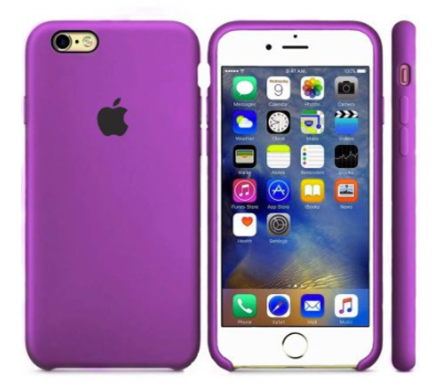 iPhone 6/6s Silicone Case  Purple